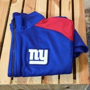 Nike Drifit NFL Onfield NY Giants Jacket
